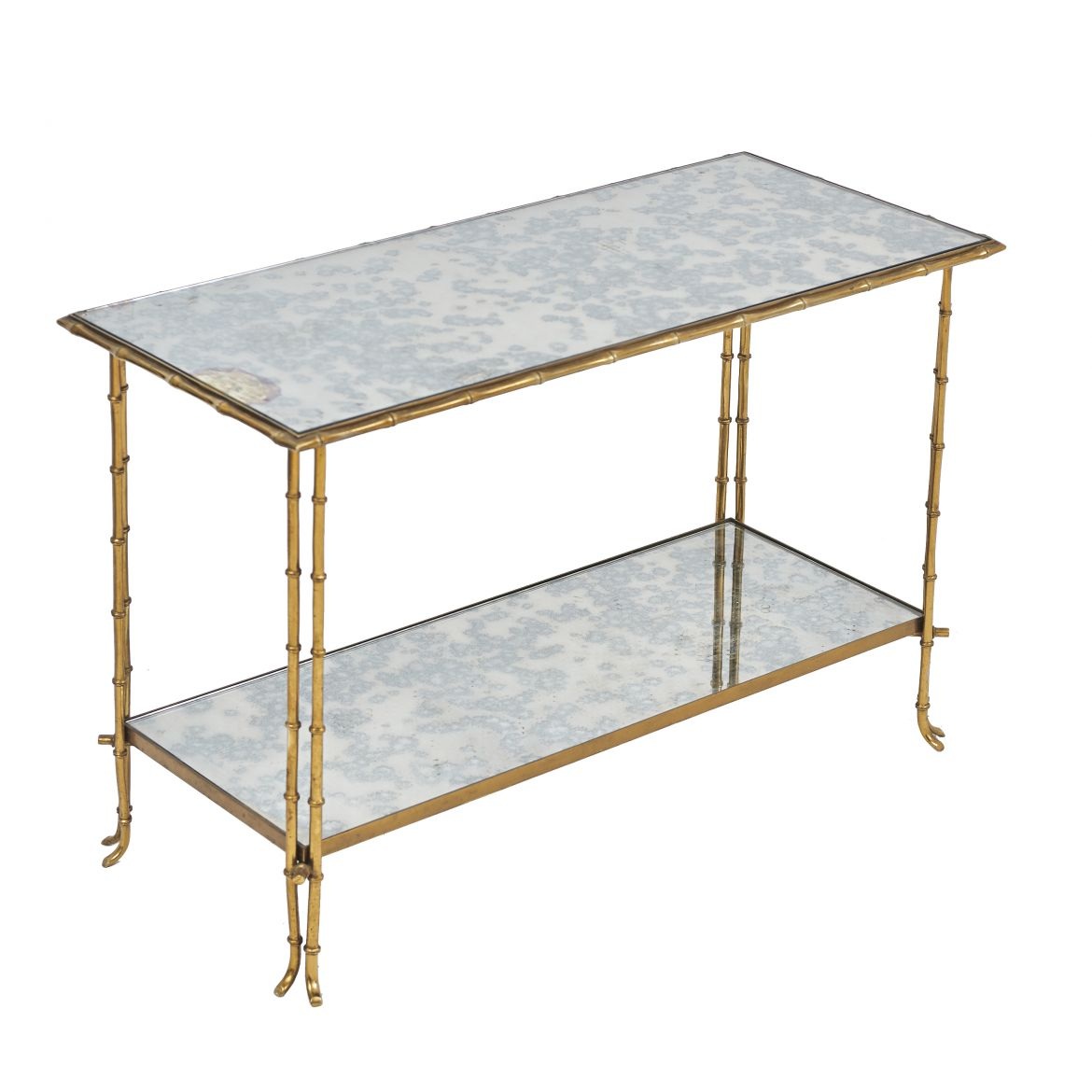 Bagues Mirrored Side Table
