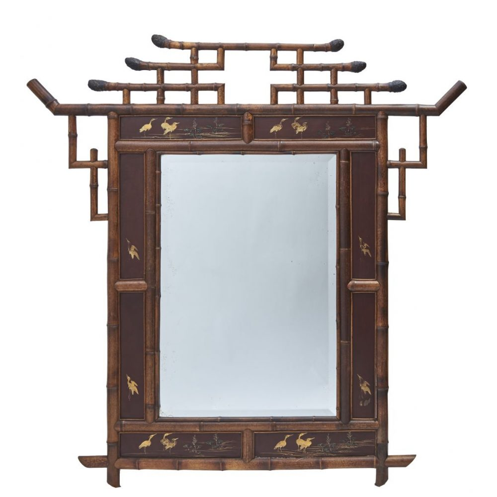 French Chinoiserie Mirror
