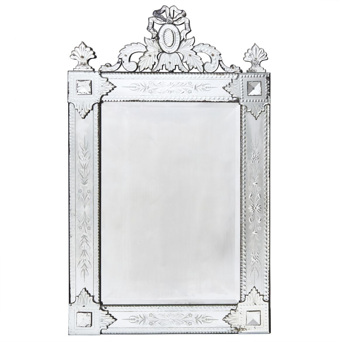 French Venetian Style Mirror