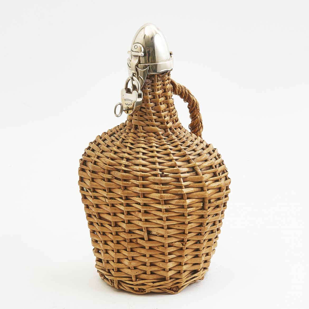 Heath and Middleton Wicker Covered Bottle