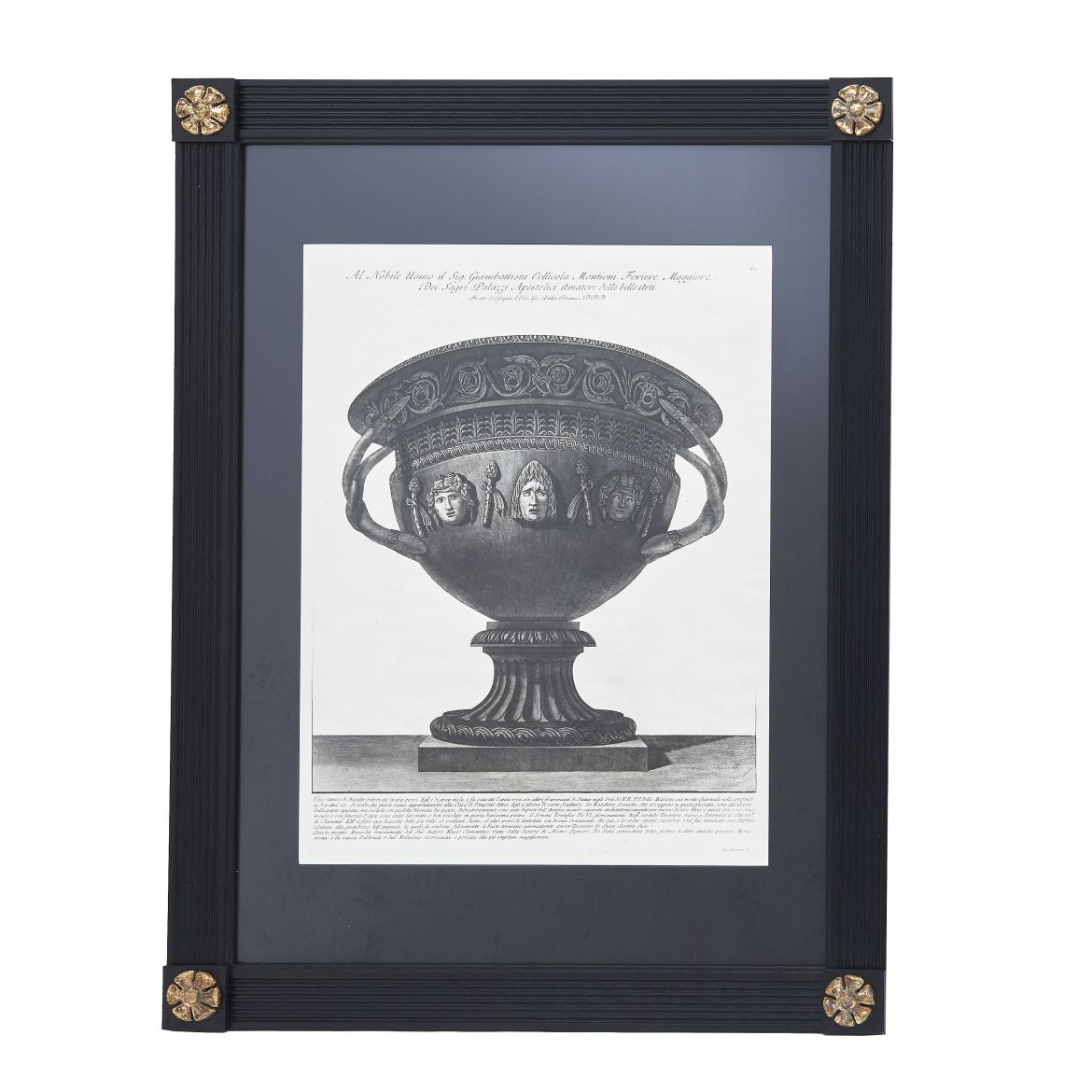 Piranesi Print of Basalt Vase