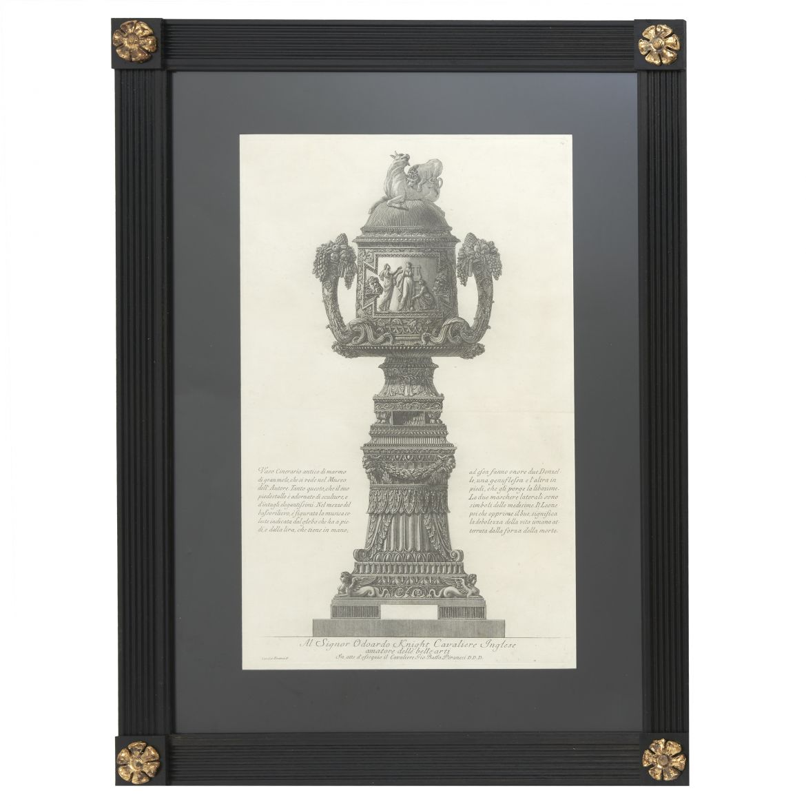 Large Vase Etching By Piranesi
