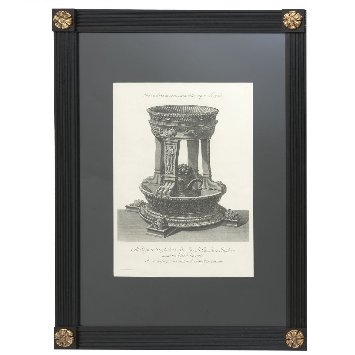 Piranesi Perspective Etching of Tripod