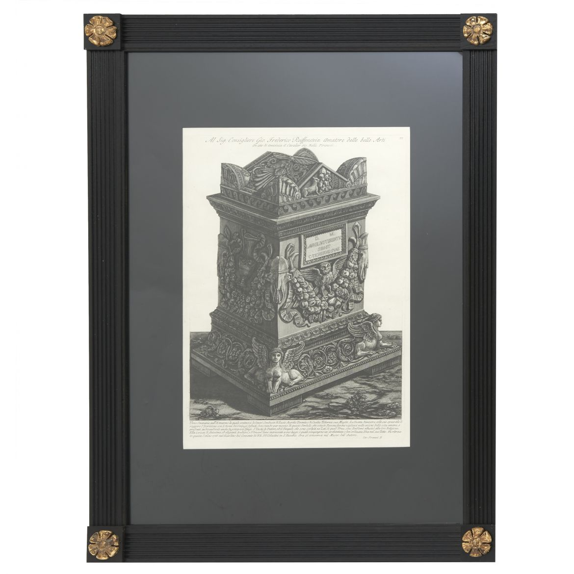 Piranesi Etching Of Cinerary Urn