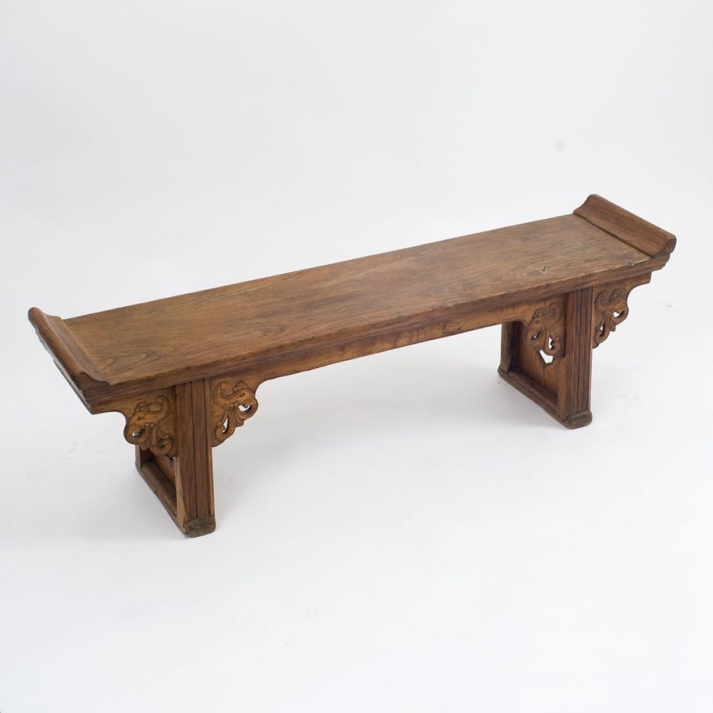 Small Chinese Elm Bench
