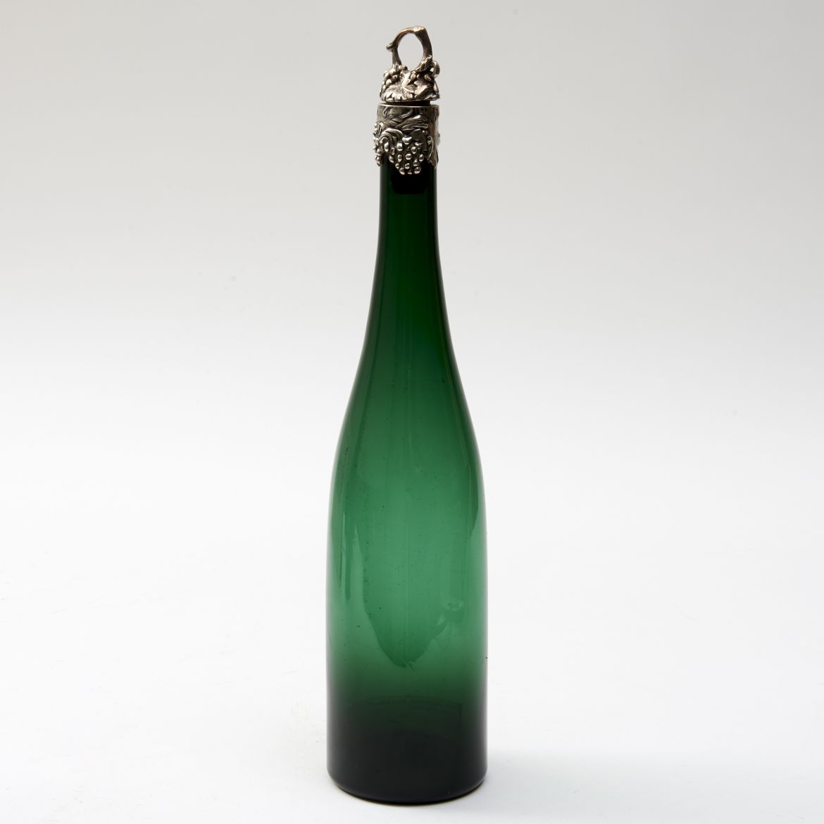 English Green Glass Bottle