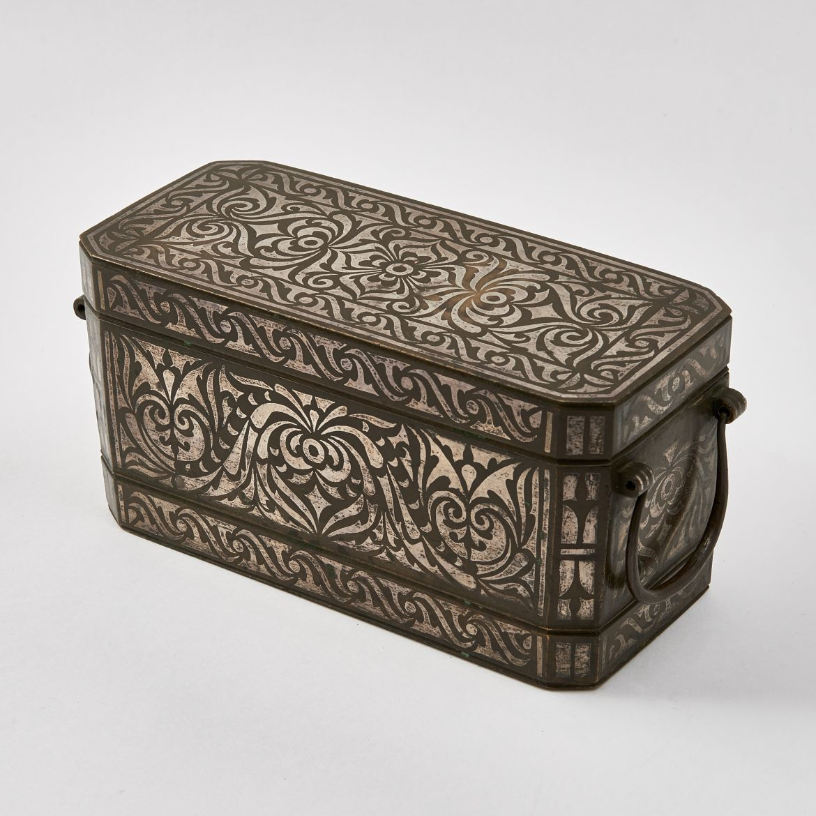 Indian Arabesque Betel Nut Box