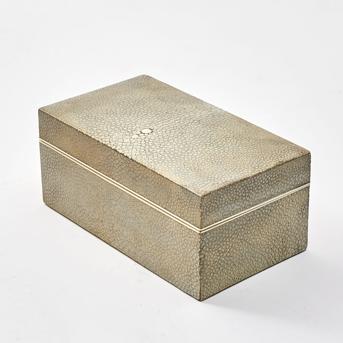 Pale Shagreen Box