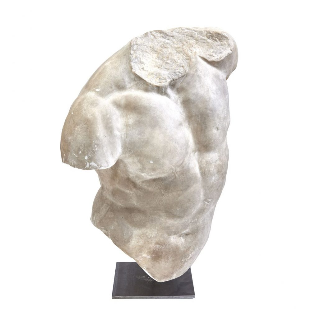 Large Plaster Of The Gaddi Torso
