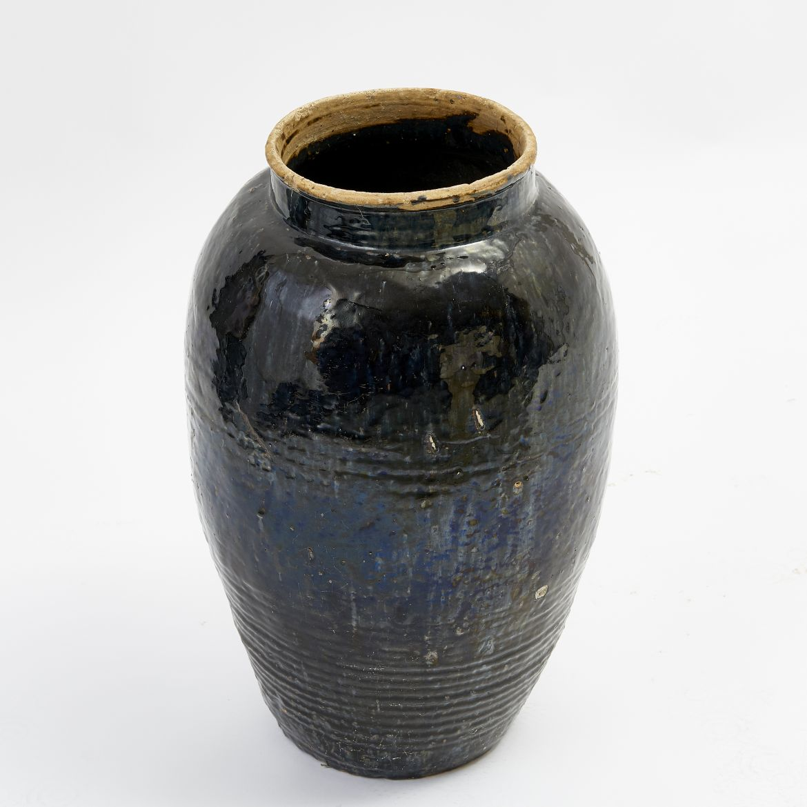 Chinese Glazed Jar