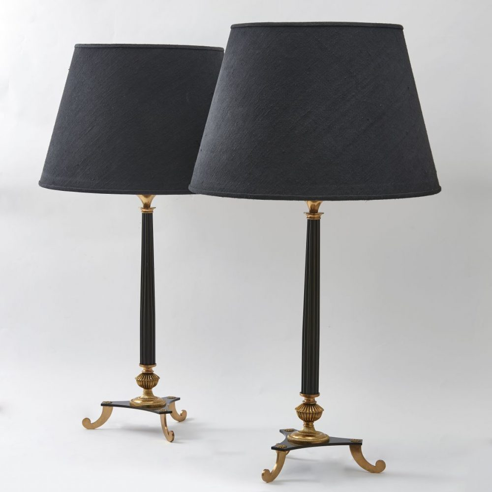 Pair of Lamps after Poillerat