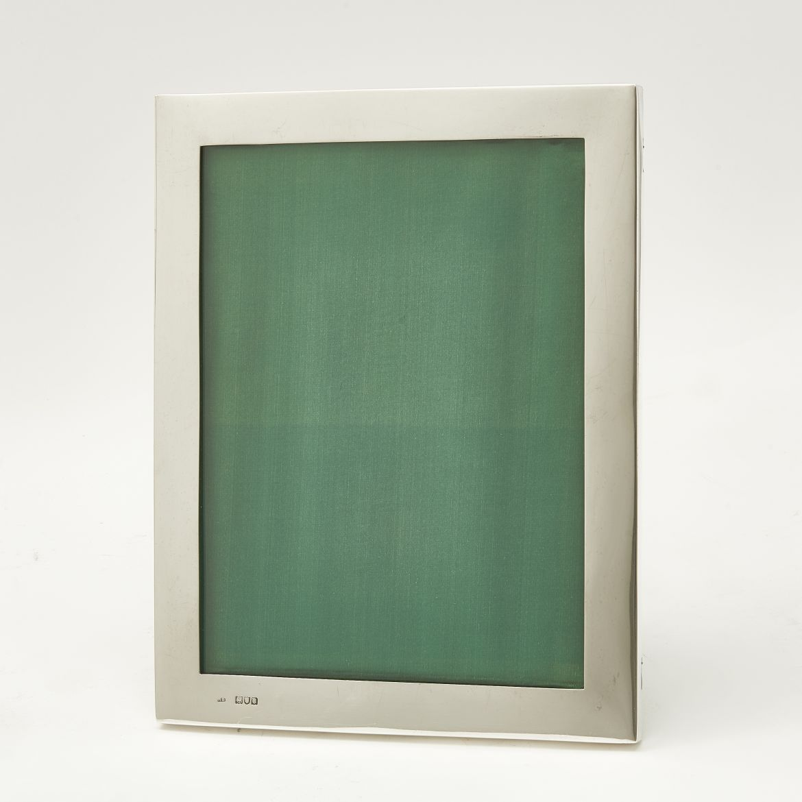 Silver Frame With Green Slip