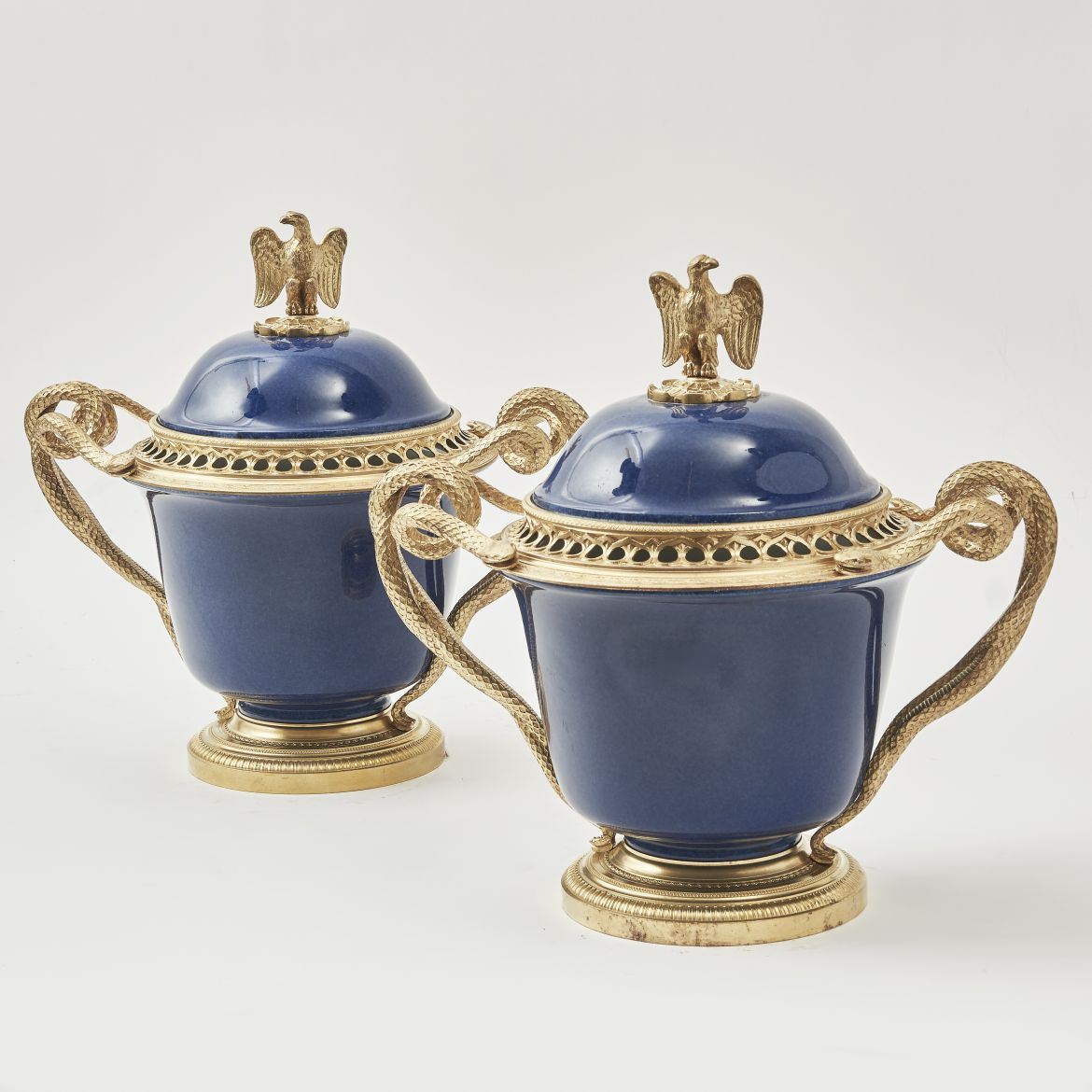 Napoleon III Pot Pourri Urns And Covers