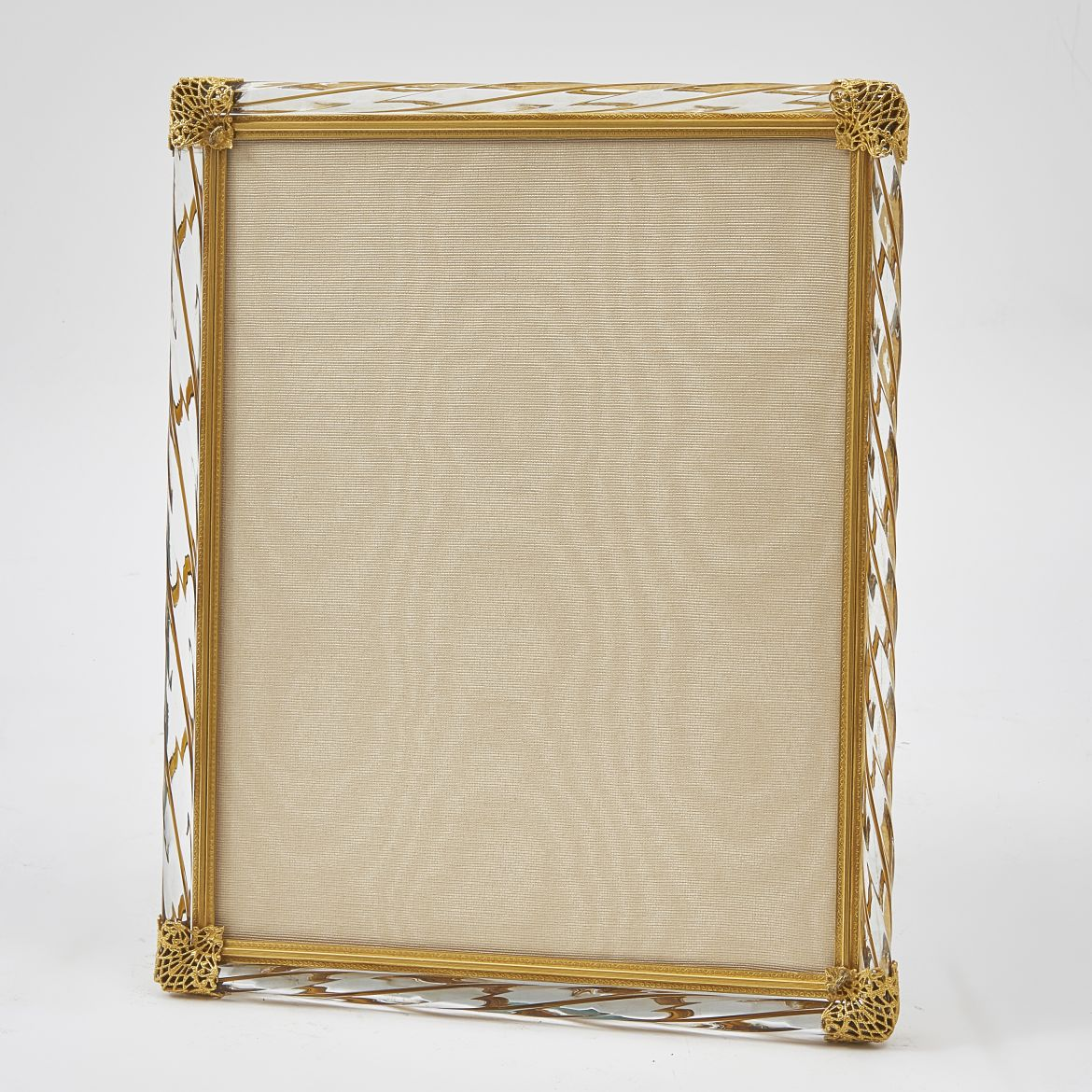 Clear and Amber Glass Frame