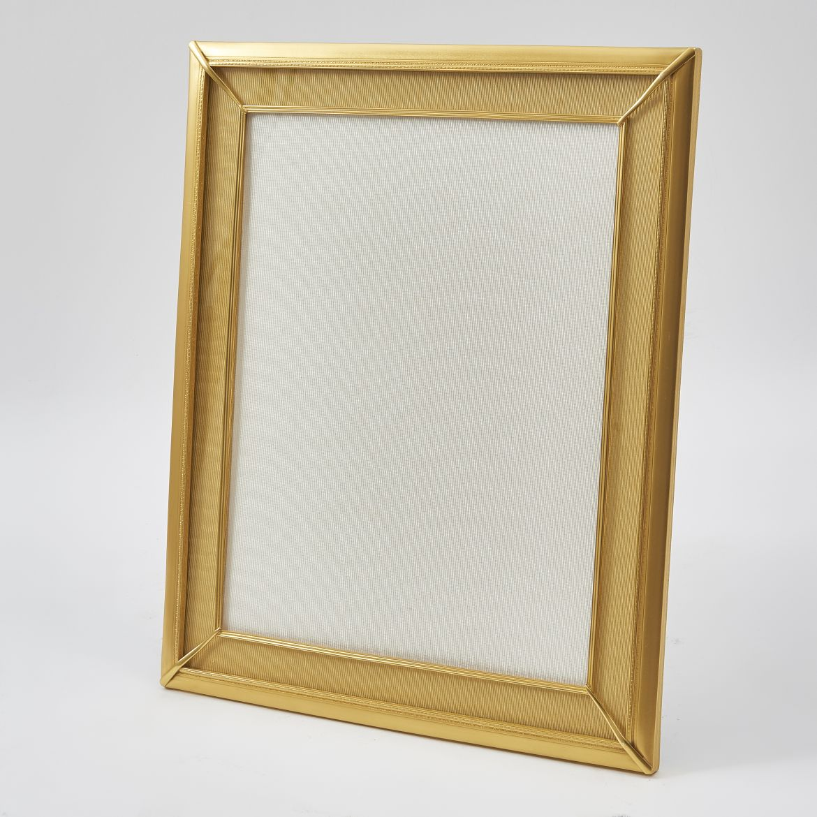 Large French Gilt Bronze Photo Frame