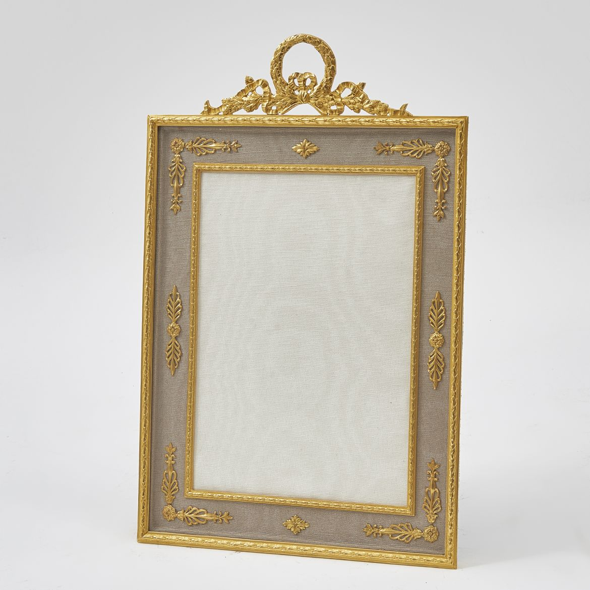 French Frame with Laurel Crest