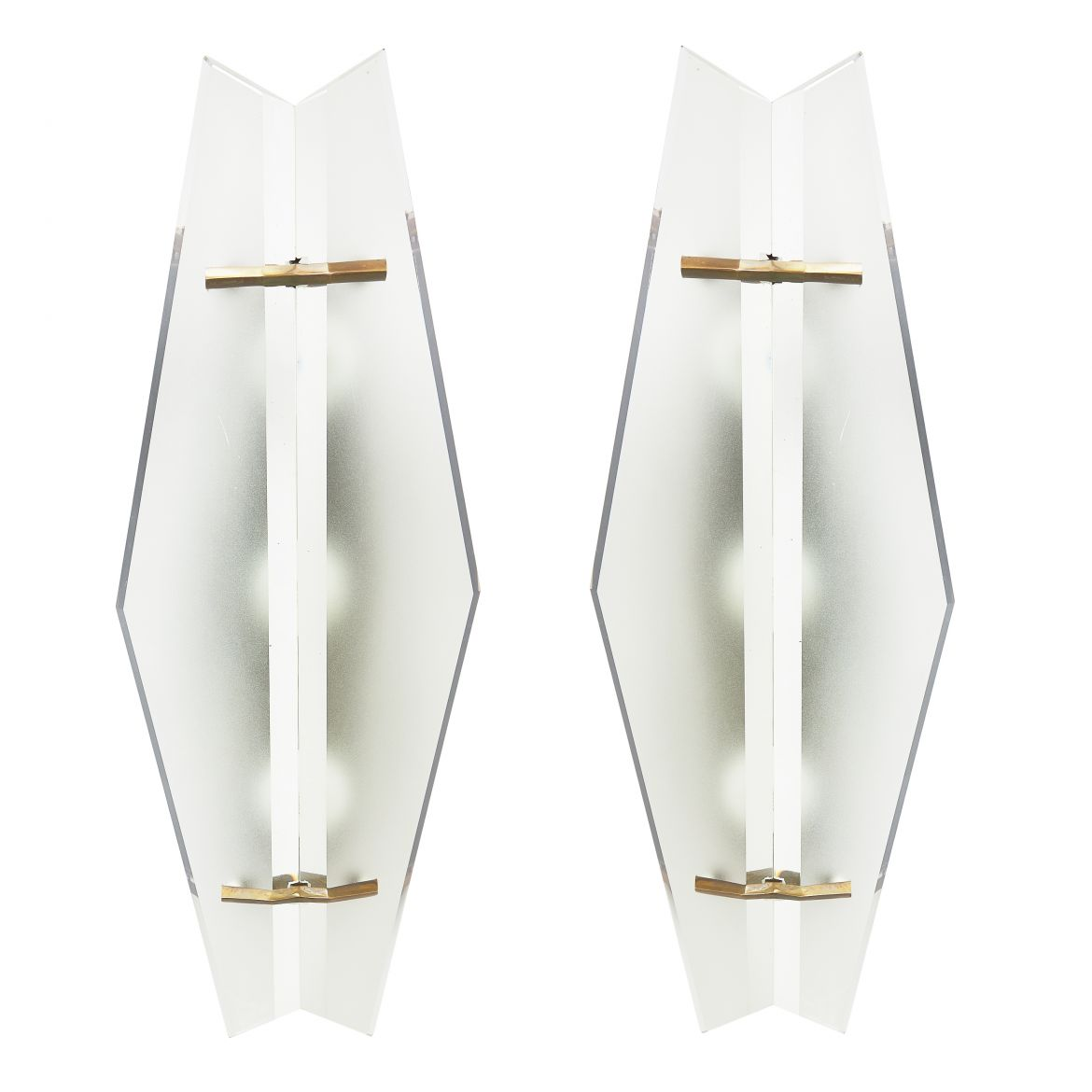 Max Ingrand Design Fontana Arte Sconces