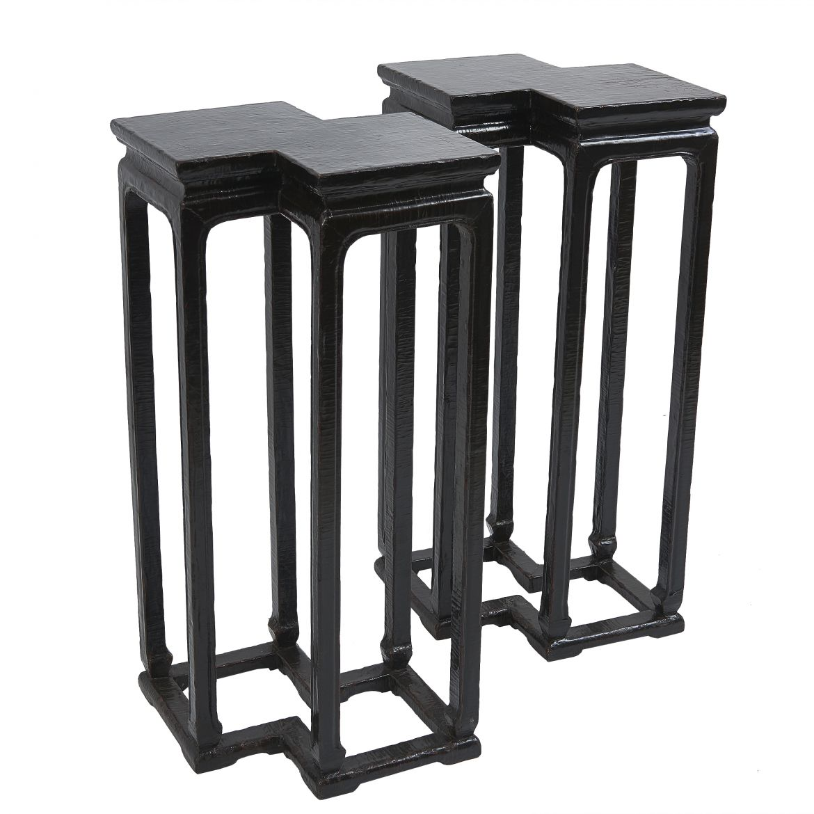 Chinese Conjoined lacquer Tables