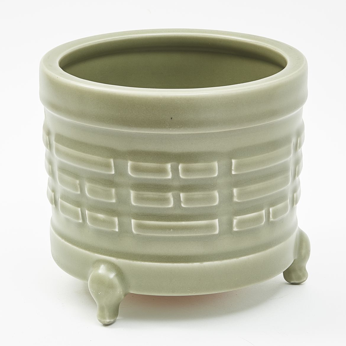 Chinese Celadon Glaze Incense Burner