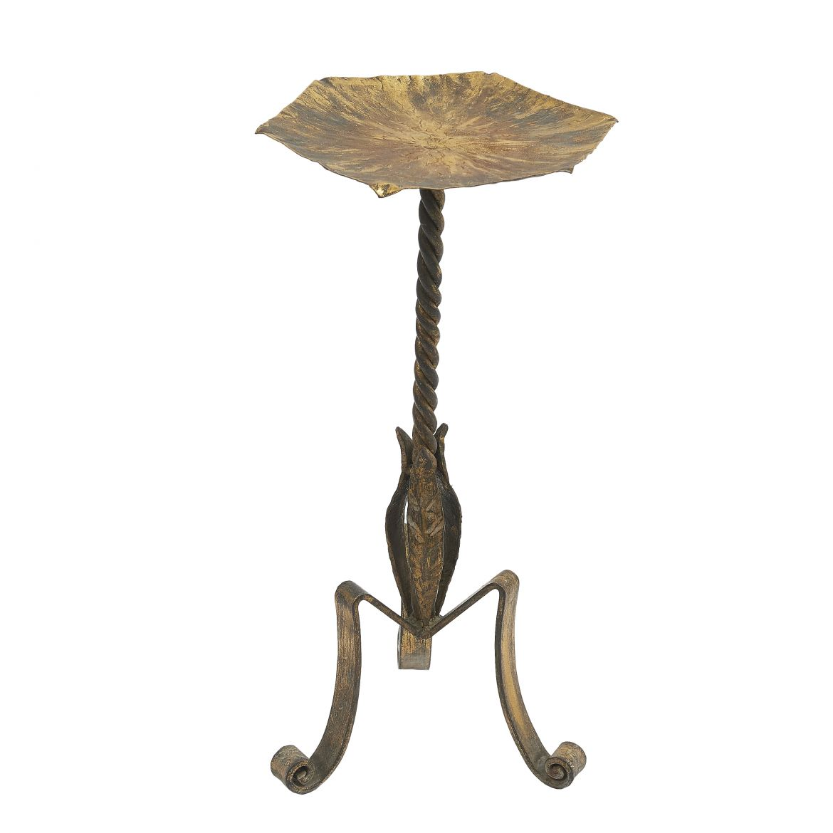 Gilt Iron Martini Table