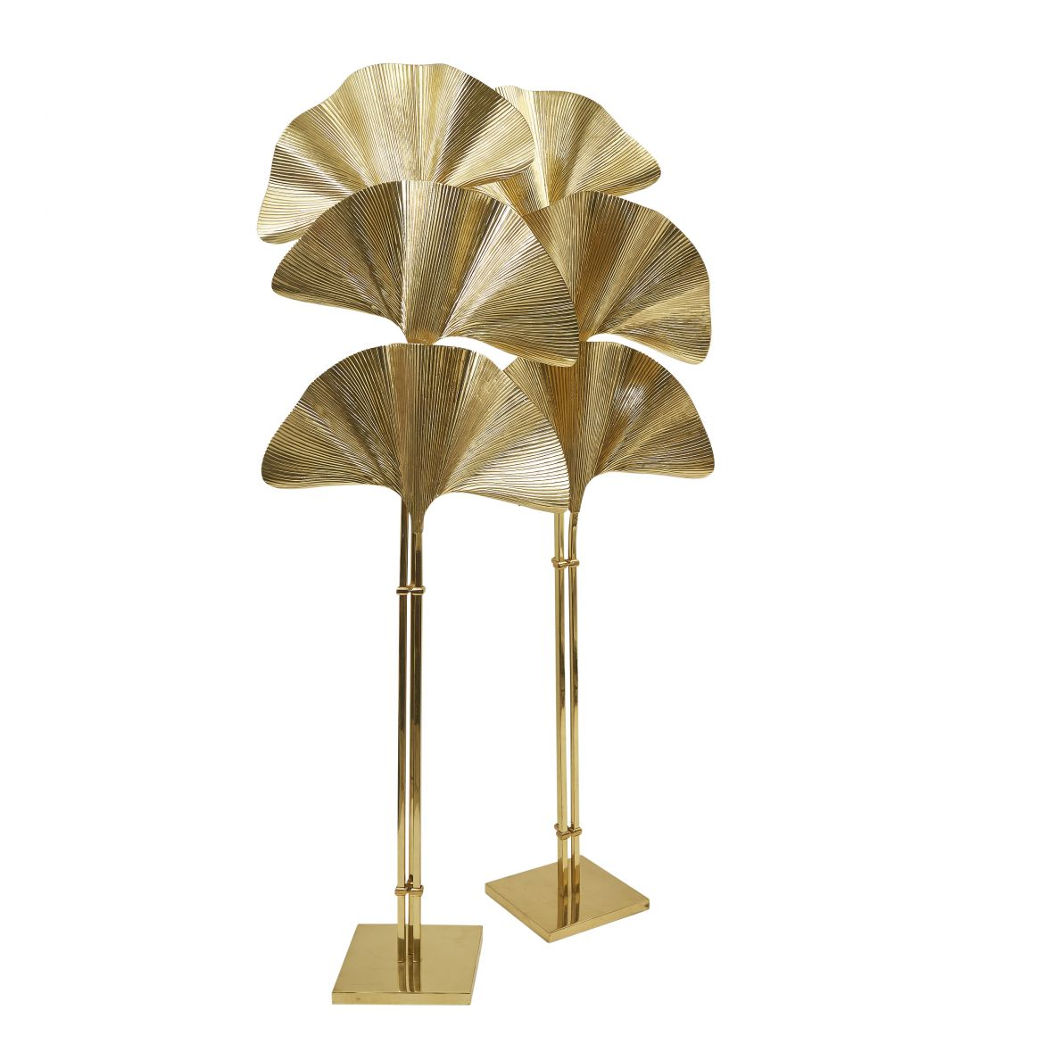 Pair Tommaso Barbi Ginkgo Lamps