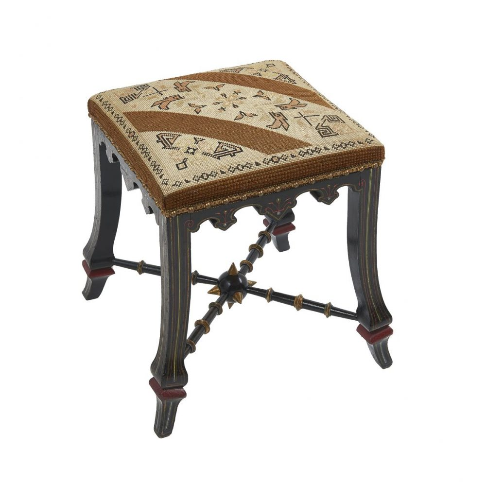 French Louis Philippe A La Russie Style Stool