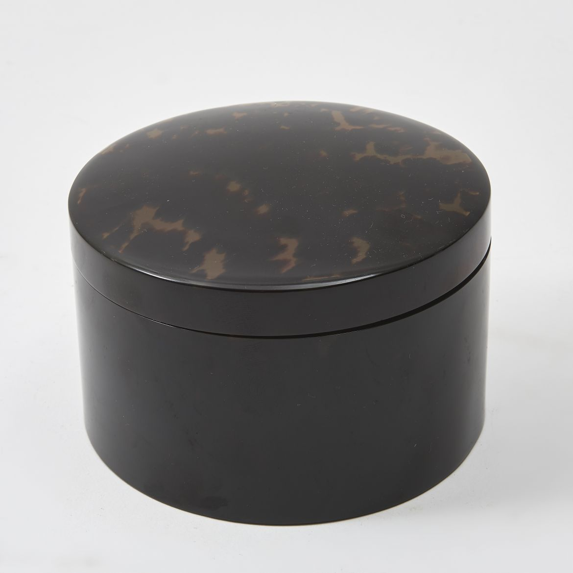 English Tortoiseshell Powder Pot