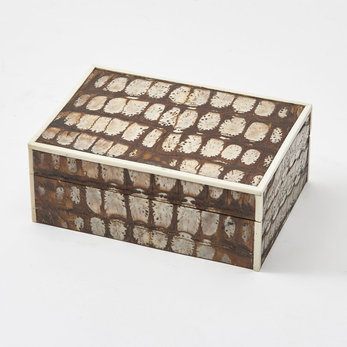 Fortnum and Mason Crocodile Skin Cigarette Box