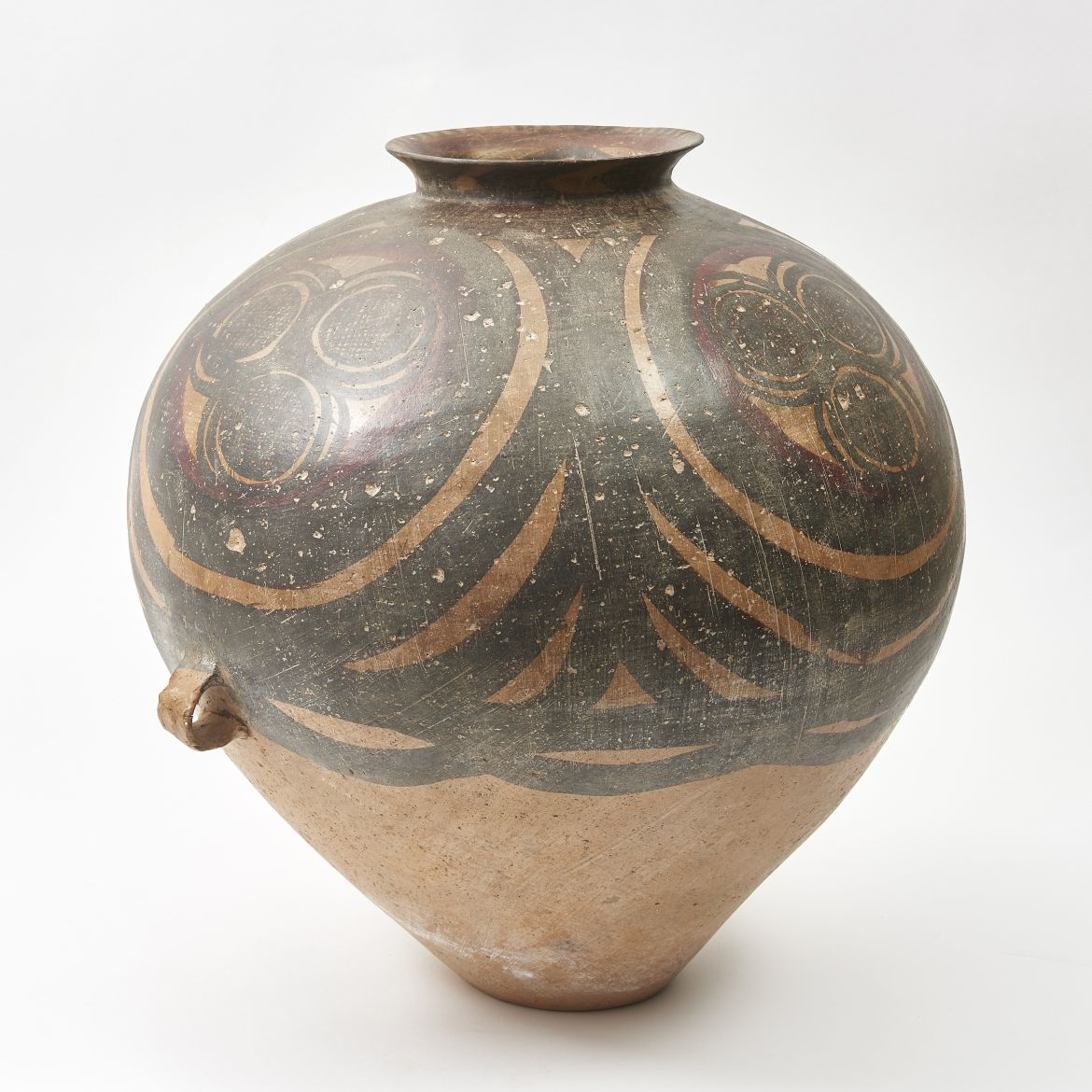 Chinese painted Terracotta Neolithic Vase