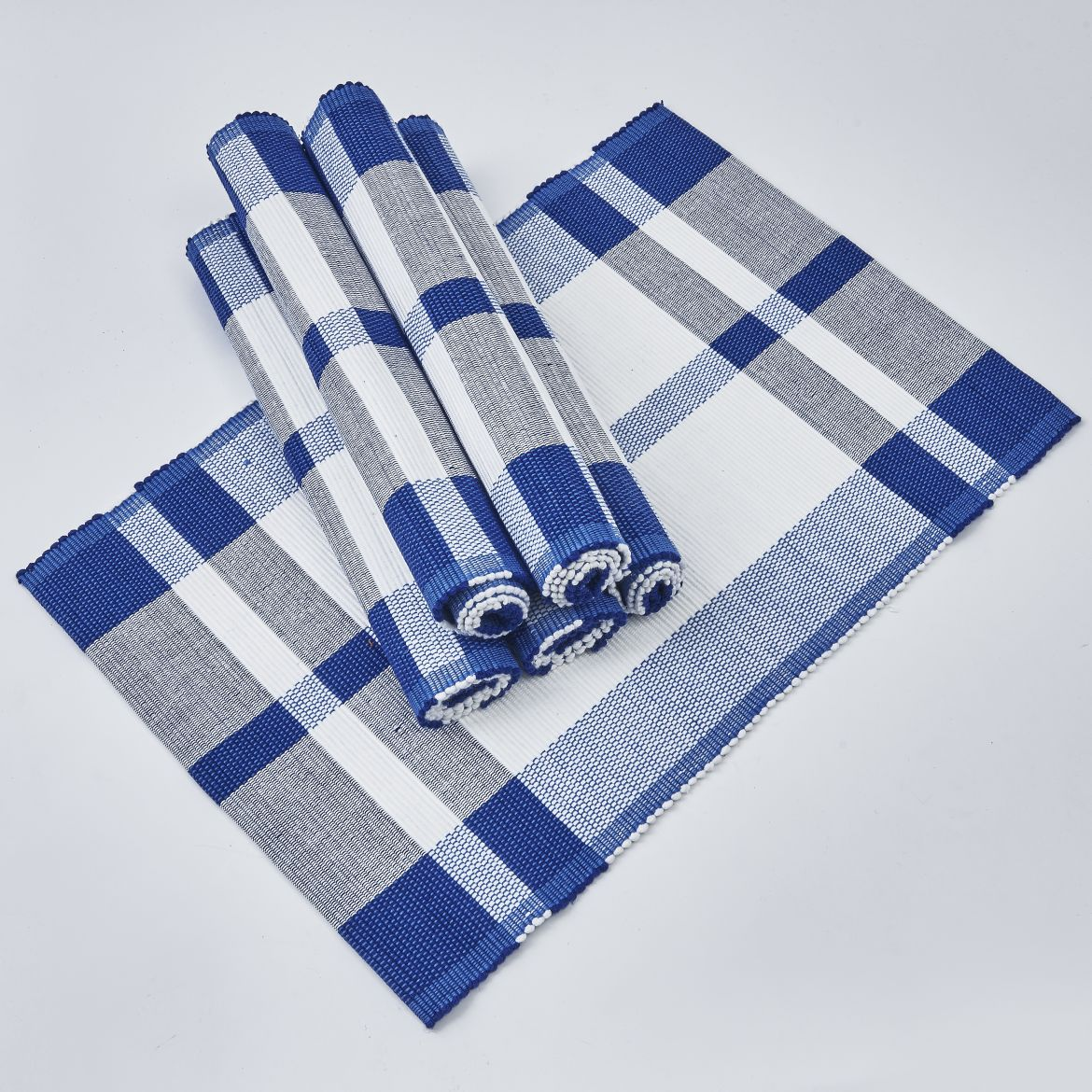 Blue And White Placemats
