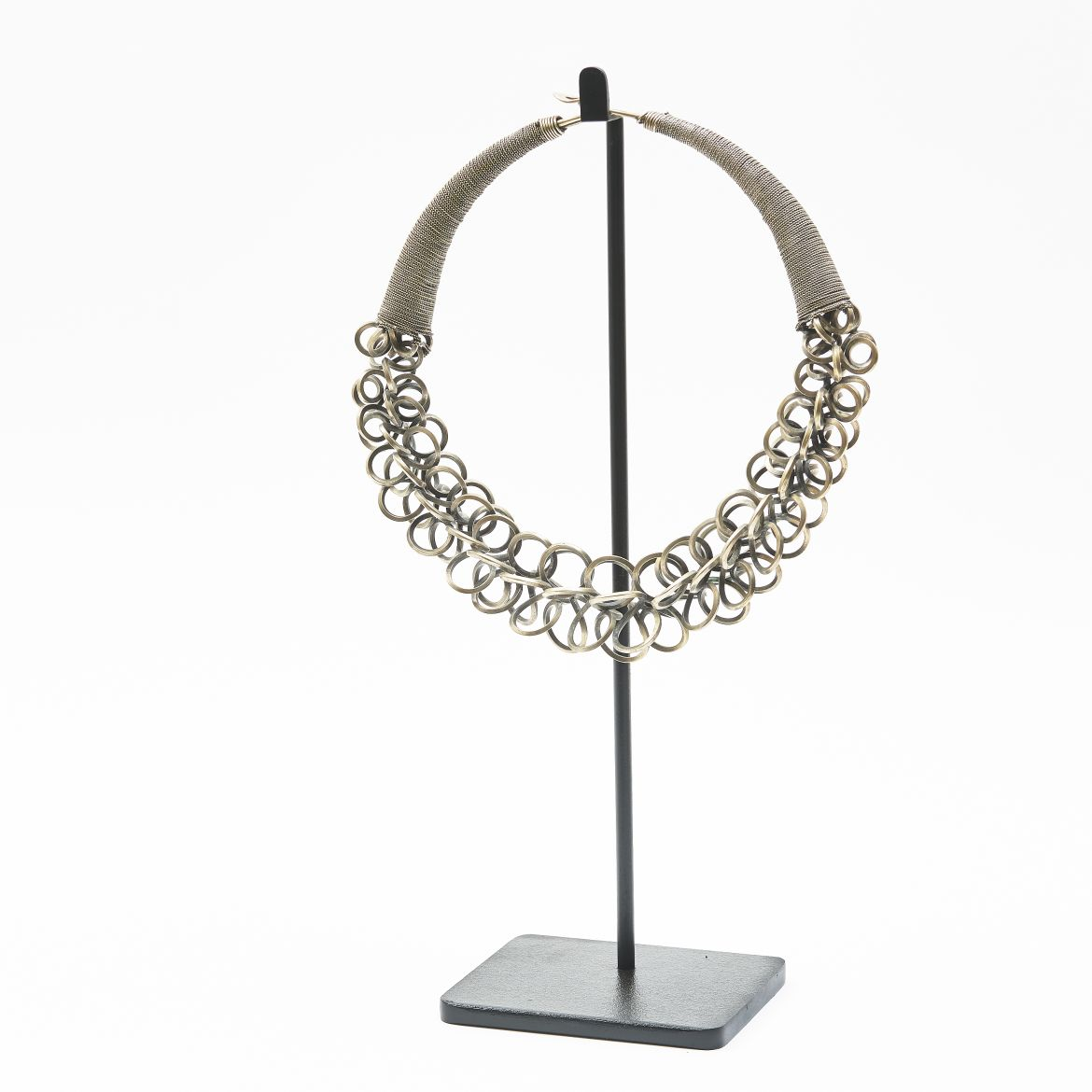 Chinese Metal Loop Necklace