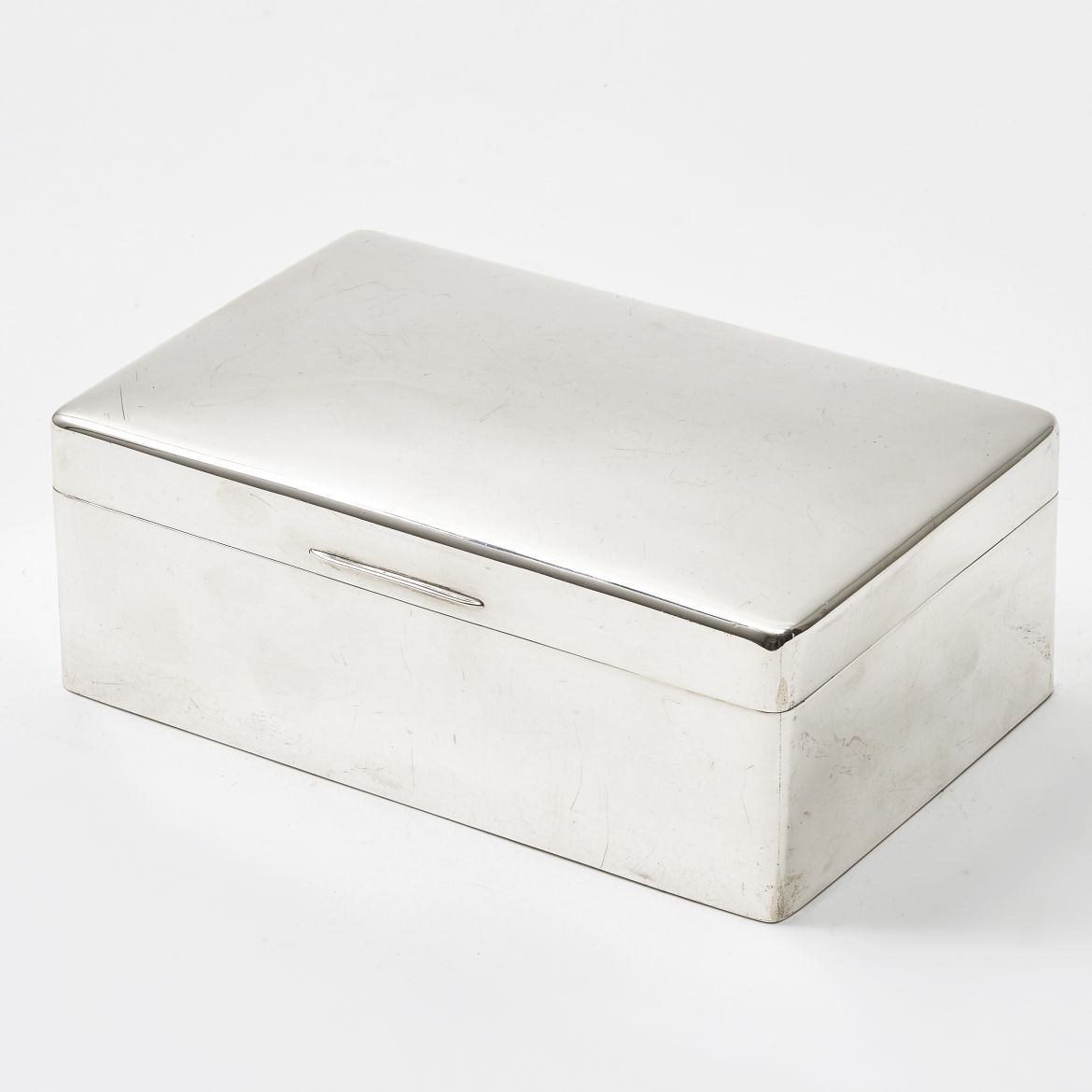 Adie Brothers Ltd Silver Humidor