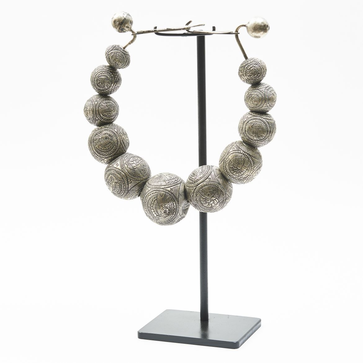 Chinese Miao Ball Necklace