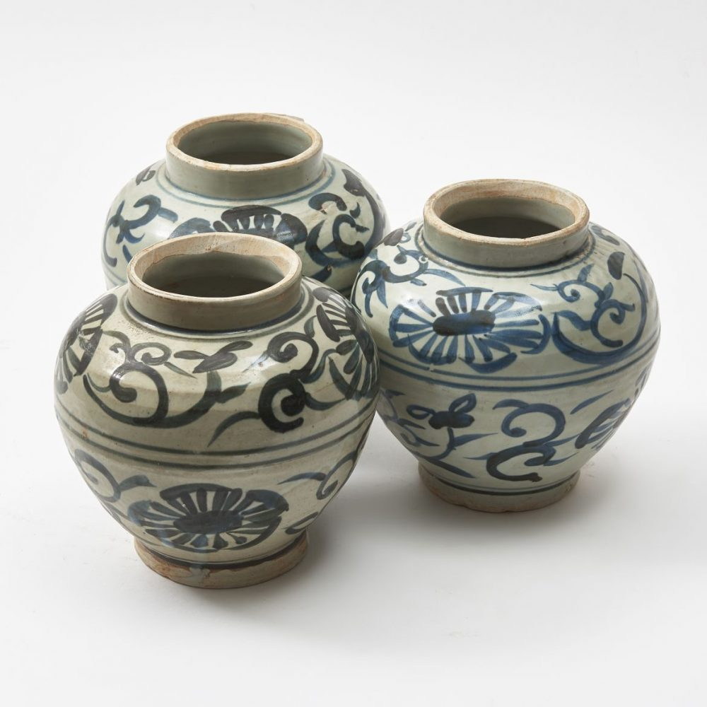 Chinese Ming Style Ginger Jar