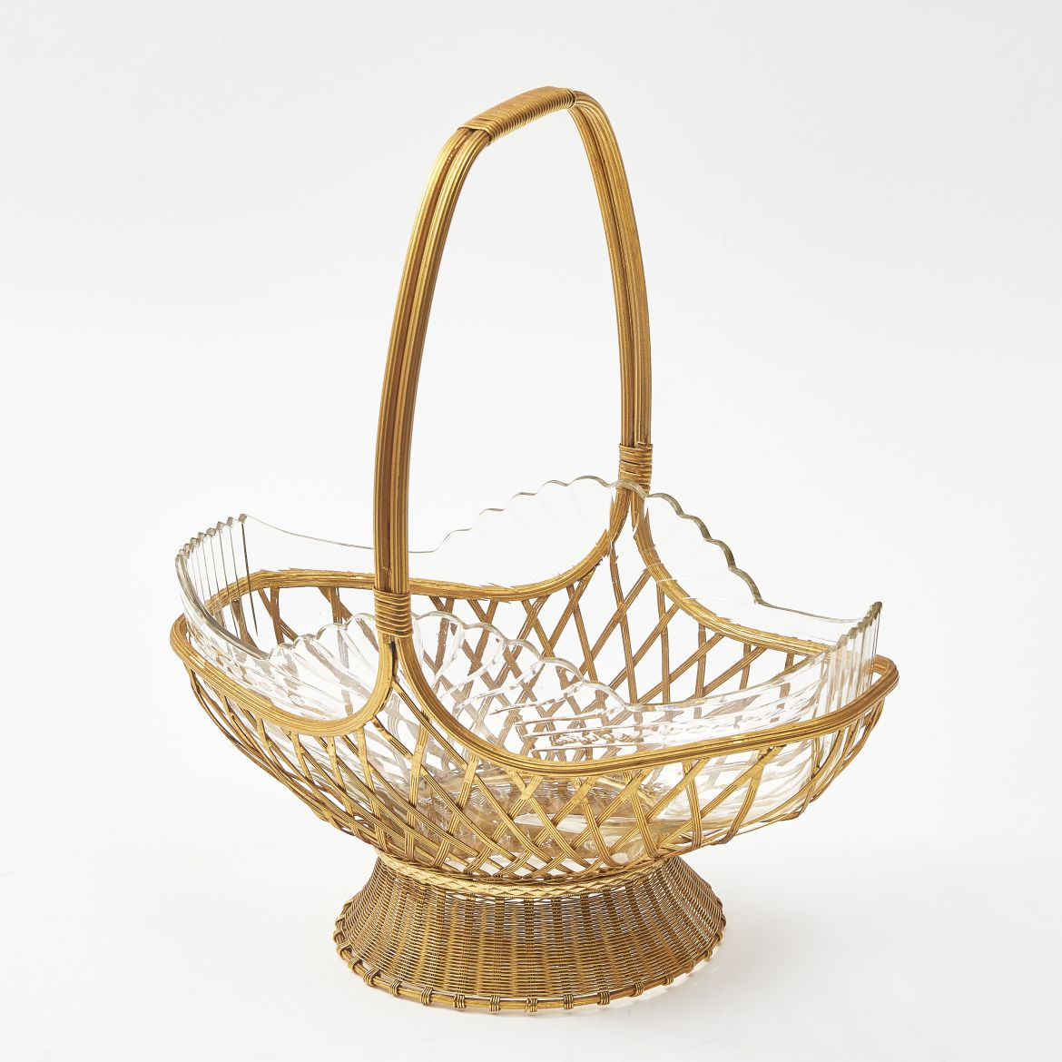 French Basket Form Centrepiece
