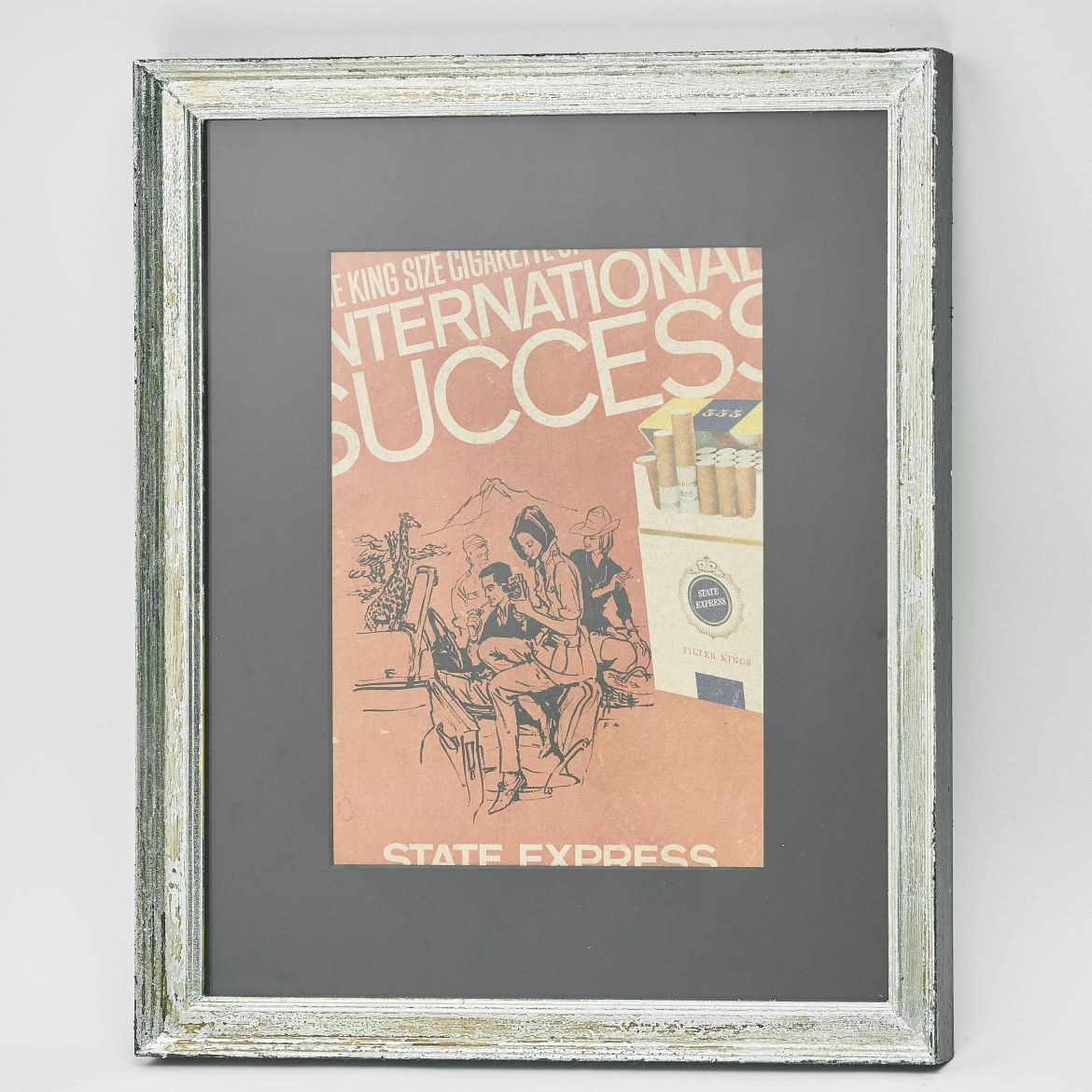 State Express Cigarettes Poster