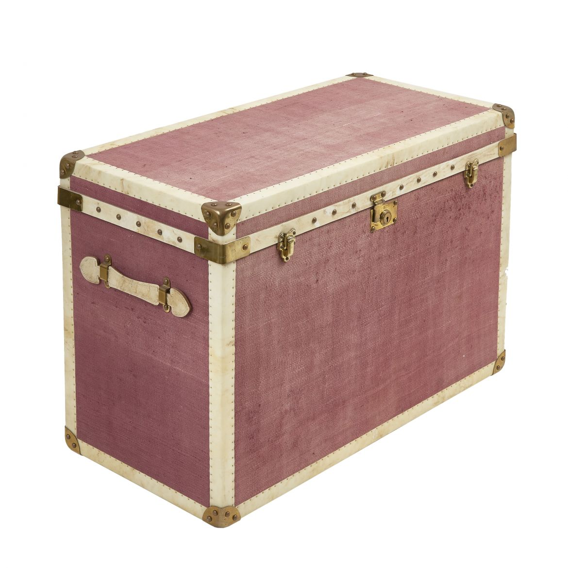 Linen Covered Trunk
