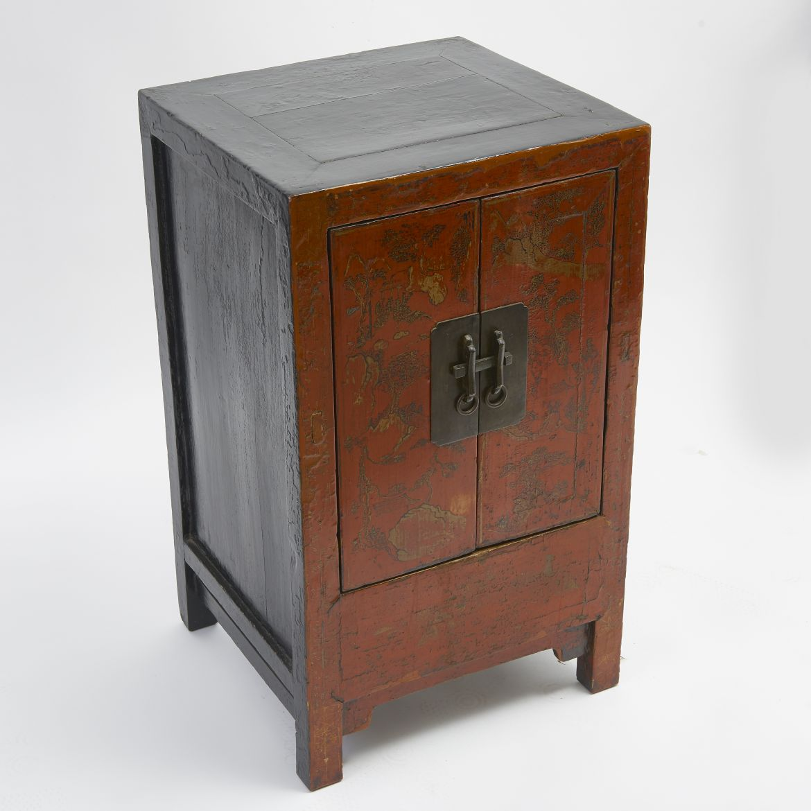 Small Chinese Lacquer Cabinet