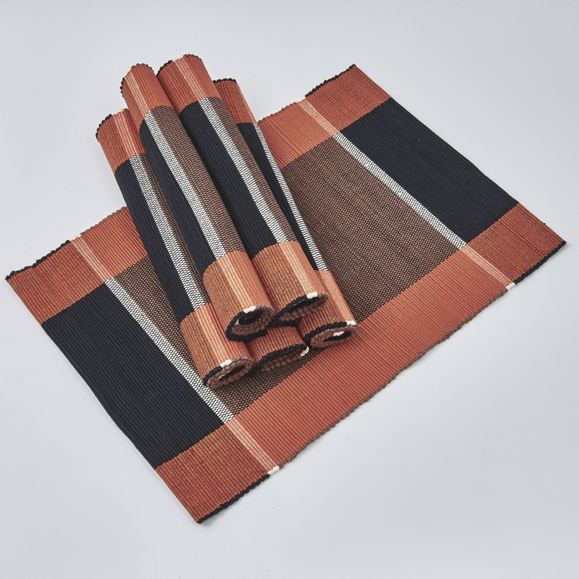 Black And Brown Placemats