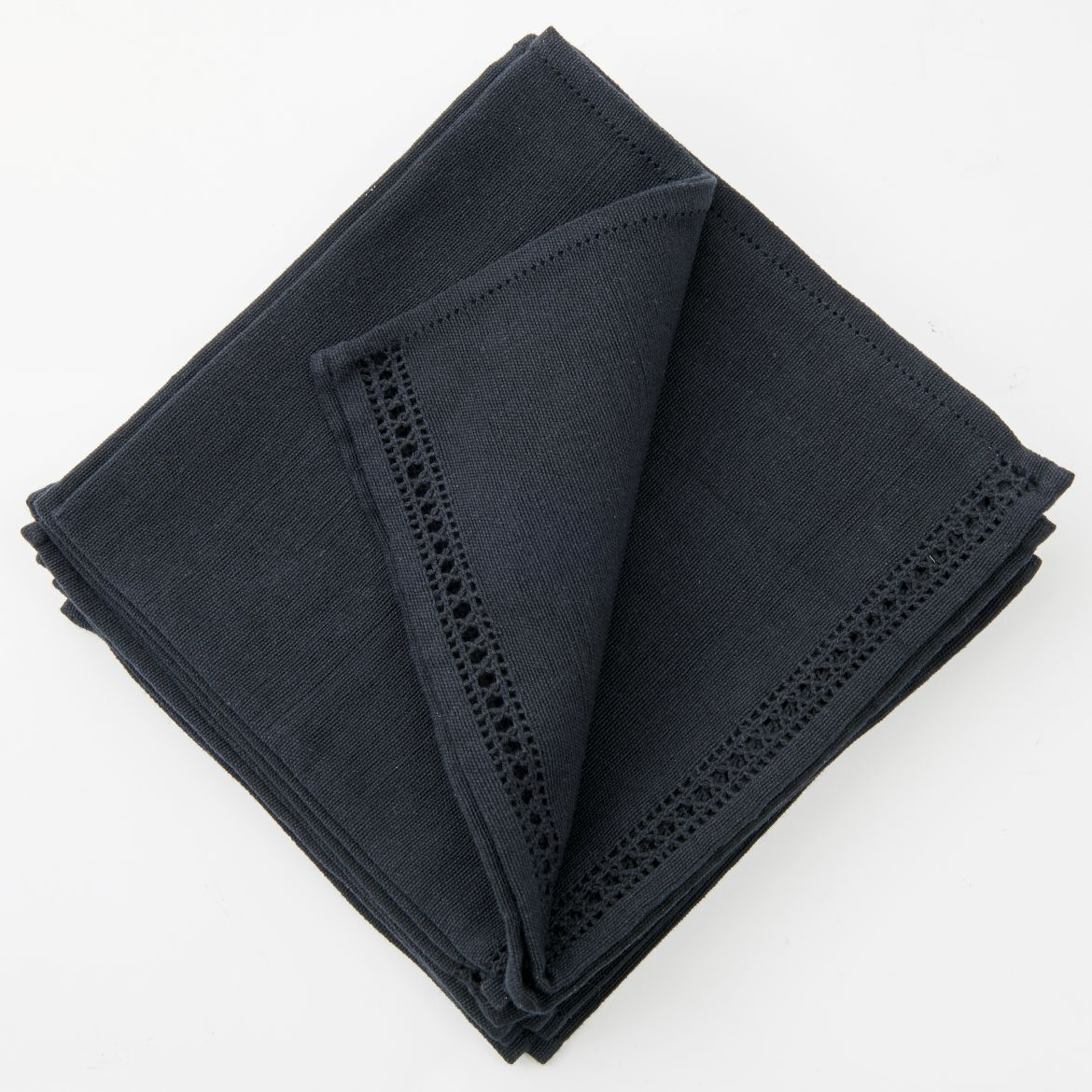 Set Of Black Napkins