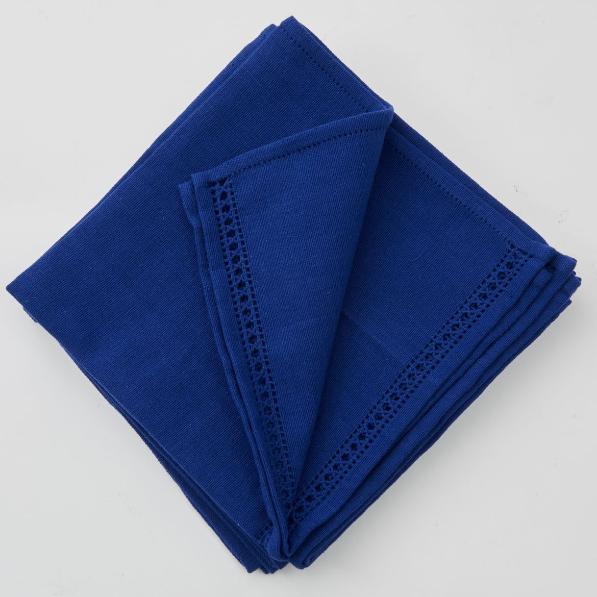 Set of Blue Napkins