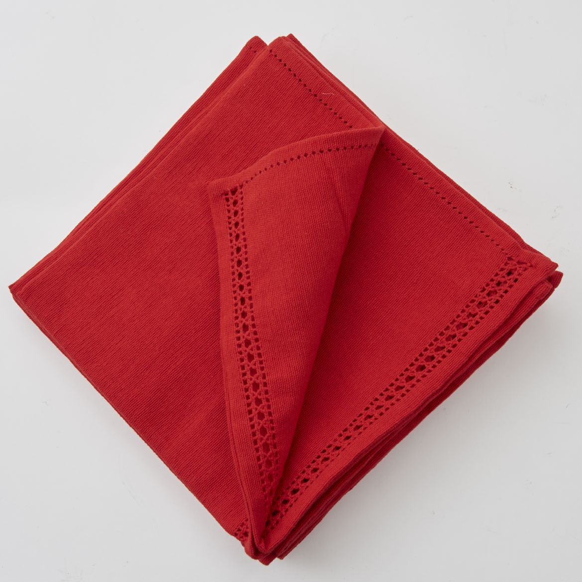 Set of Red Napkins