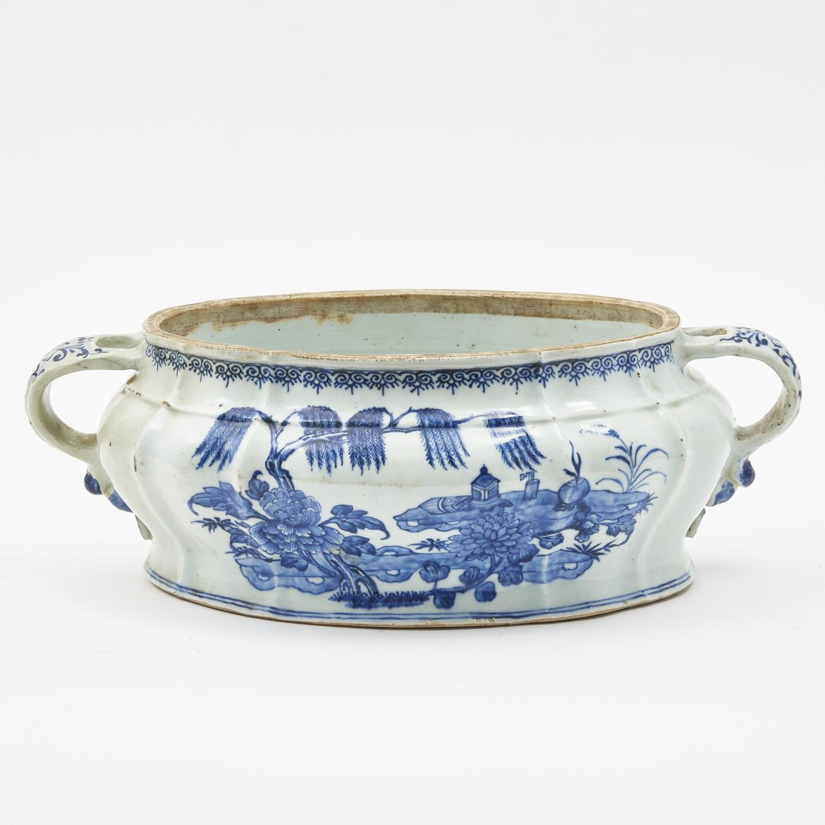 Chinese Blue And White Porcelain Tureen
