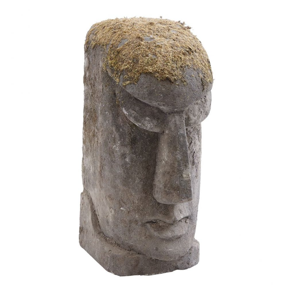 Easter Island Carved stone Head