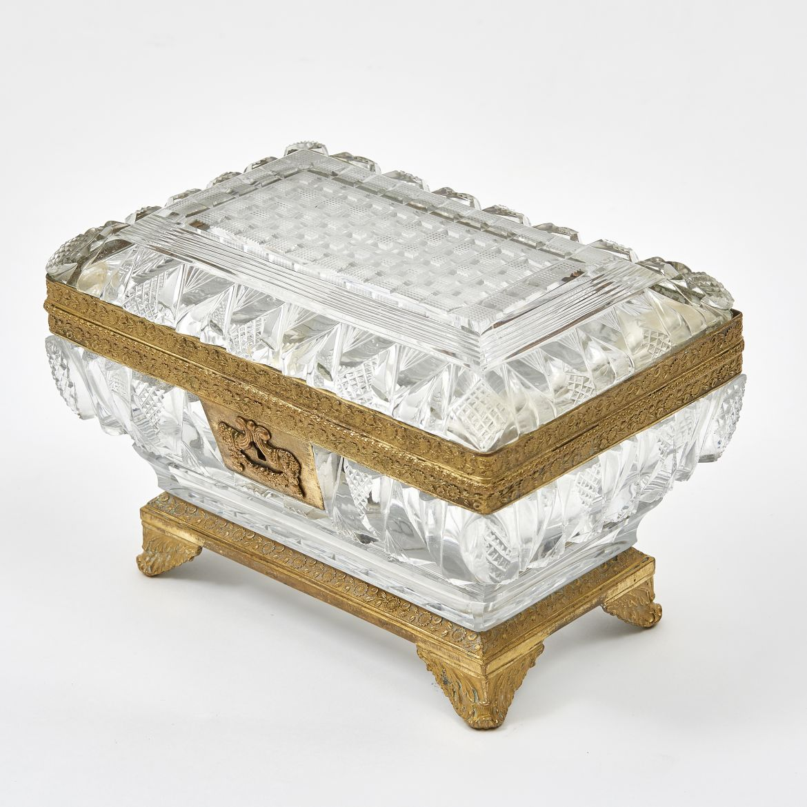 Louis Philippe Crystal Box