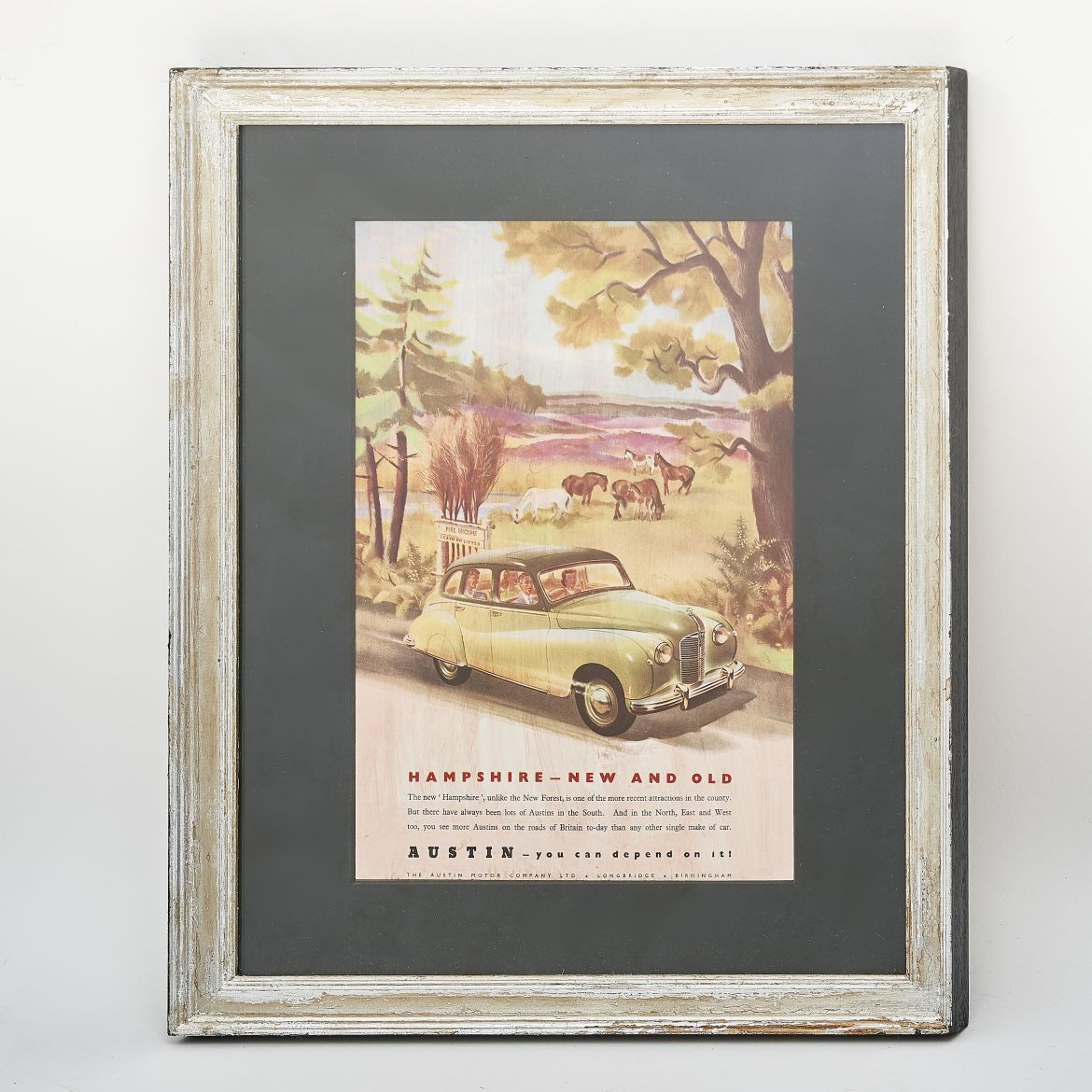 1940s Hampshire by Austin advert