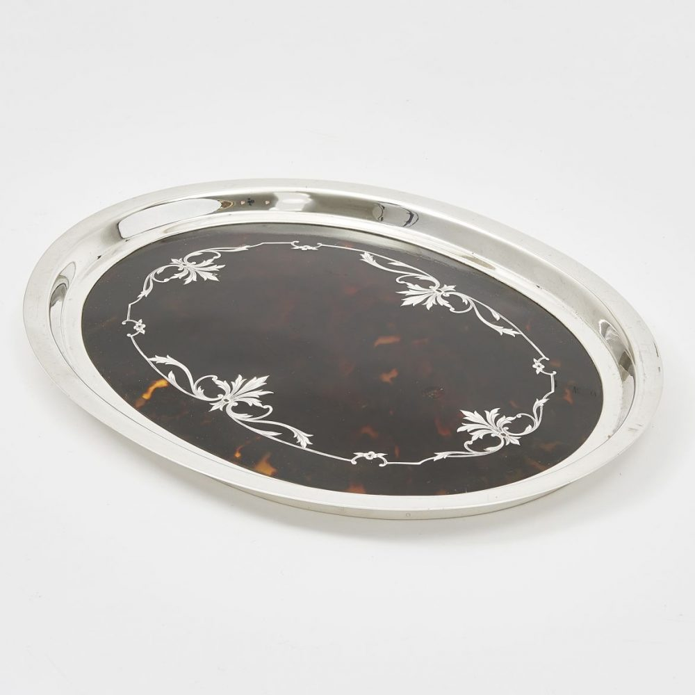 Mappin and Webb Tortoiseshell Tray