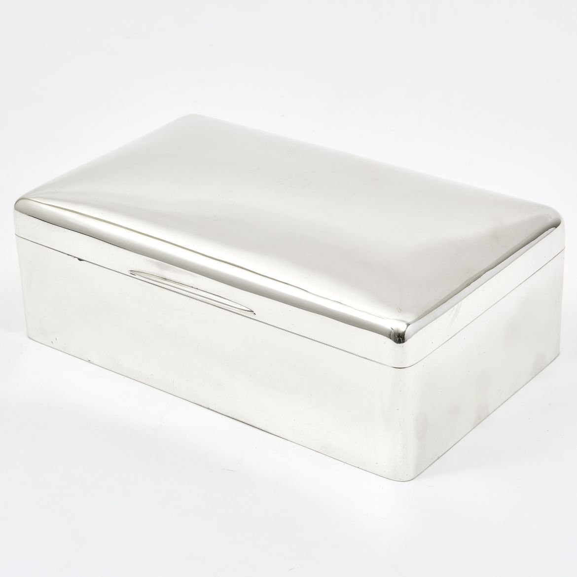 Large William Comyns Silver Humidor