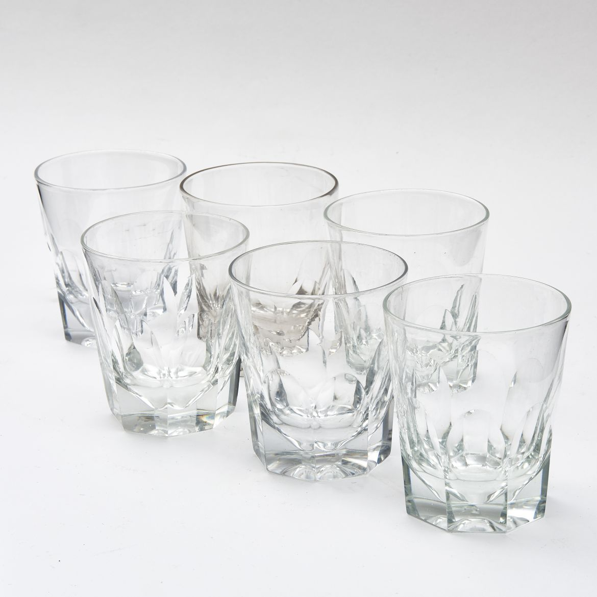 Set Of Six William IV Whisky Tumblers