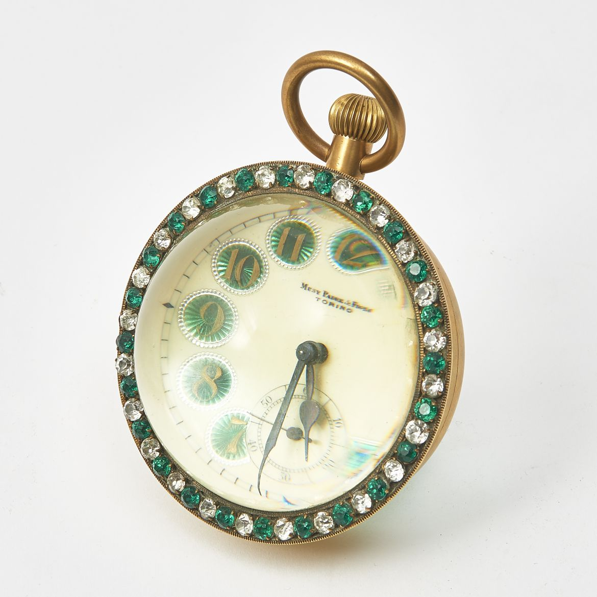 French Musy Ball Clock with Paste Surround